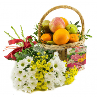 Витамины с цветами