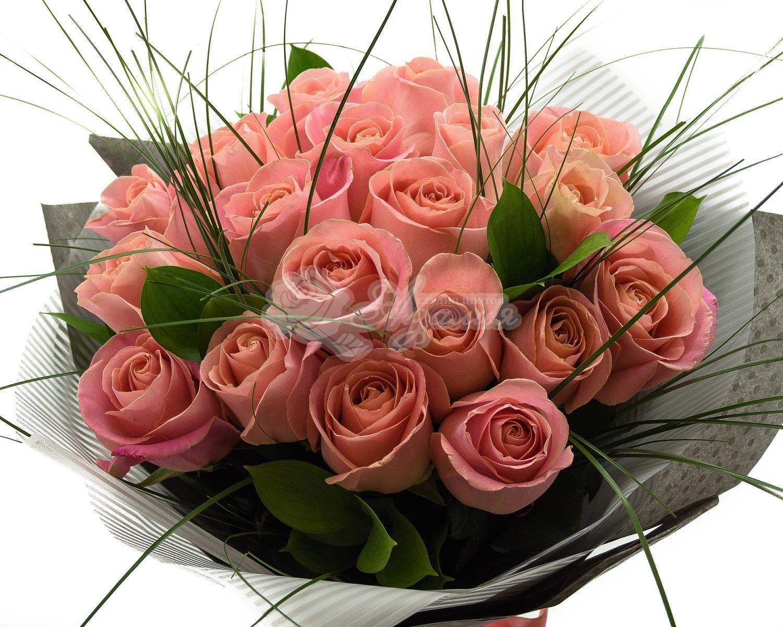Букет из 23 роз своими руками фото, зелени