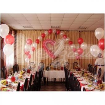 Оформление шарами на свадьбу «Комплект № 11»